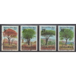 Zimbabwe - 1981 - Nb 29/32 - Trees - Used