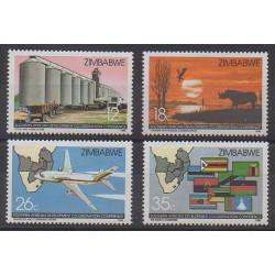 Zimbabwe - 1986 - No 114/117