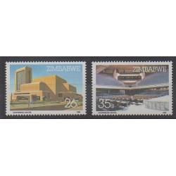 Zimbabwe - 1986 - Nb 112/113 - Architecture