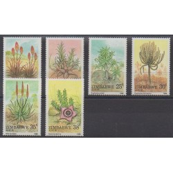 Zimbabwe - 1988 - Nb 158/163 - Flora