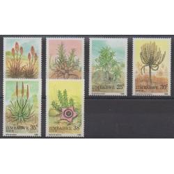 Zimbabwe - 1988 - No 158/163 - Flore