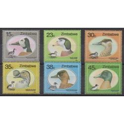 Zimbabwe - 1988 - No 164/169 - Oiseaux