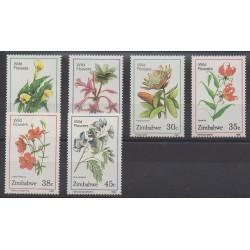 Zimbabwe - 1989 - No 174/179 - Fleurs