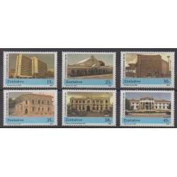 Zimbabwe - 1990 - Nb 216/221 - Architecture