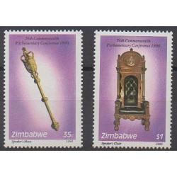 Zimbabwe - 1990 - Nb 222/223 - Art