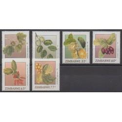 Zimbabwe - 1991 - No 234/239 - Fruits ou légumes