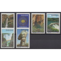 Zimbabwe - 1991 - No 240/245 - Sites