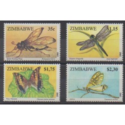 Zimbabwe - 1995 - Nb 328/331 - Insects