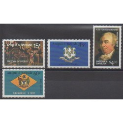 Antigua and Barbuda - 1987 - Nb 1020/1023 - Various Historics Themes