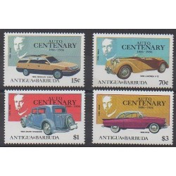 Antigua et Barbuda - 1986 - No 951/954 - Voitures