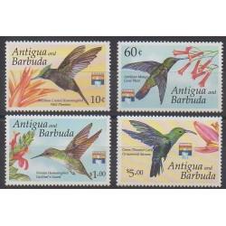Antigua et Barbuda - 1992 - No 1475/1478 - Oiseaux - Philatélie