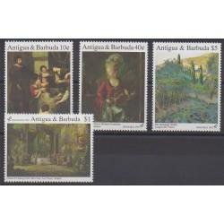 Antigua et Barbuda - 1992 - No 1451/1454 - Peinture