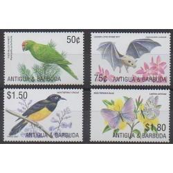 Antigua et Barbuda - 2002 - No 3161/3164 - Oiseaux - Mammifères