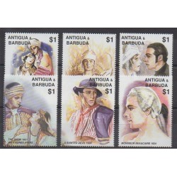 Antigua et Barbuda - 2001 - No 3119A/3119F - Cinéma