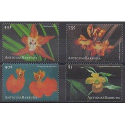 Antigua et Barbuda - 2001 - No 3057/3060 - Orchidées