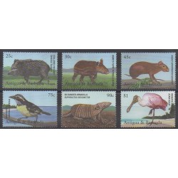 Antigua and Barbuda - 2001 - Nb 3029/3034 - Animals - Endangered species - WWF