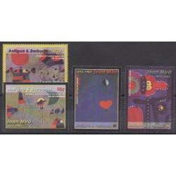 Antigua et Barbuda - 2004 - No 3468/3471 - Peinture