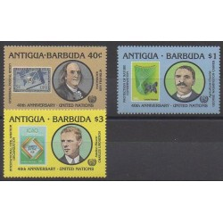 Antigua et Barbuda - 1985 - No 875/877 - Nations unies