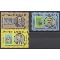 Antigua et Barbuda - 1985 - No 875/877 - Nations unies