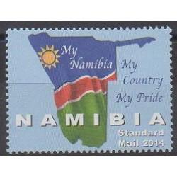 Namibie - 2014 - No 1318 - Drapeaux