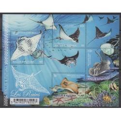 Wallis et Futuna - Blocs et feuillets - 2017 - No F873 - Animaux marins