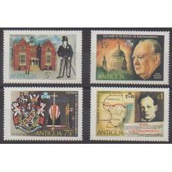 Antigua - 1974 - No 340/343 - Célébrités