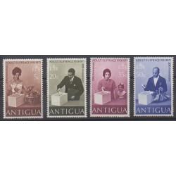 Antigua - 1971 - Nb 258/261