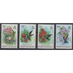 Montserrat - 1983 - No 517/520 - Oiseaux