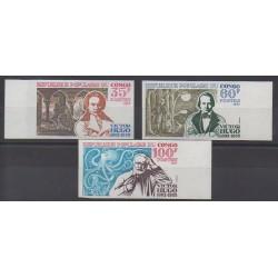 Congo (Republic of) - 1977 - Nb 463/465ND - Literature