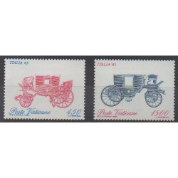 Vatican - 1985 - Nb 784/785 - Transport - Philately