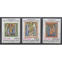 Vatican - 1989 - Nb 849/851 - Religion