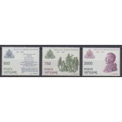 Vatican - 1991 - Nb 903/905 - Religion