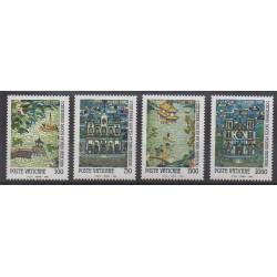 Vatican - 1990 - Nb 882/885