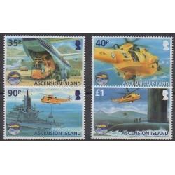Ascension - 2011 - No 1027/1030 - Hélicoptères