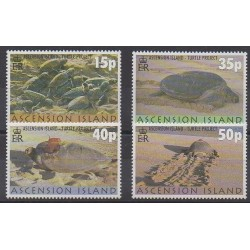 Ascension Island - 2000 - Nb 763/766 - Reptils
