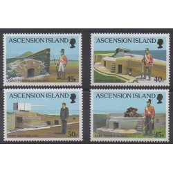 Ascension Island - 2000 - Nb 771/774 - Military history