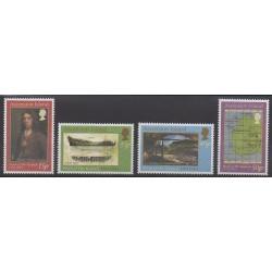 Ascension Island - 2001 - Nb 779/782 - Boats