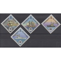 Ascension Island - 1988 - Nb 456/459 - Boats
