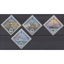 Ascension Island - 1988 - Nb 456/459 - Boats