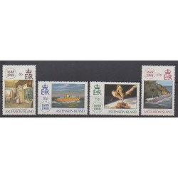Ascension Island - 1988 - Nb 469/472