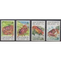 Ascension Island - 1989 - Nb 482/485 - Sea animals