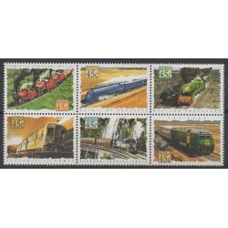 Australia - 1993 - Nb 1306/1311 - Trains