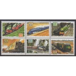 Australie - 1993 - No 1306/1311 - Chemins de fer
