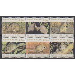 Australia - 1992 - Nb 1236/1241 - Mamals