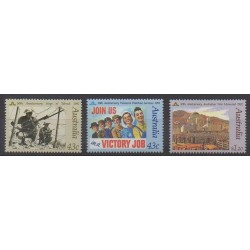 Australie - 1991 - No 1199/1201 - Seconde Guerre Mondiale