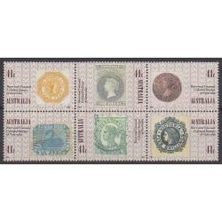 Australie - 1990 - No 1161/1166 - Timbres sur timbres