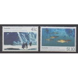 Australie - 1990 - No 1173/1174 - Polaire