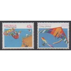 Australia - 1990 - Nb 1181/1182 - Various sports