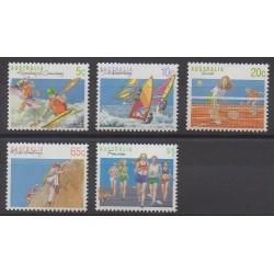 Australia - 1990 - Nb 1140/1144 - Various sports