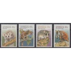 Australie - 1990 - No 1147/1150 - Animaux